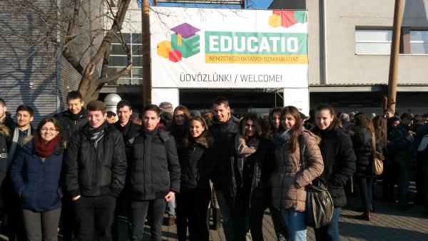 Az alábbi album képeit nézegeted: Az Educatio Szakkiállításon jártunk