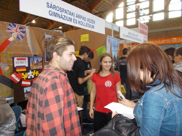 Az alábbi album képeit nézegeted: Pályaválasztási börzén Tokajban